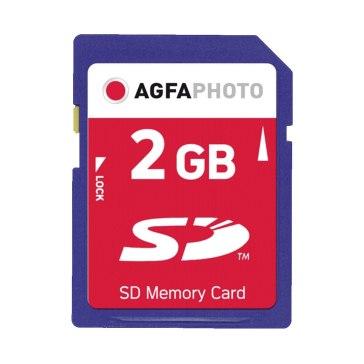Memoria SD AgfaPhoto 2GB Premium 133x
