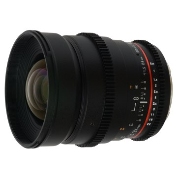Samyang 24mm T1.5 VDSLR  para Canon EOS 1300D