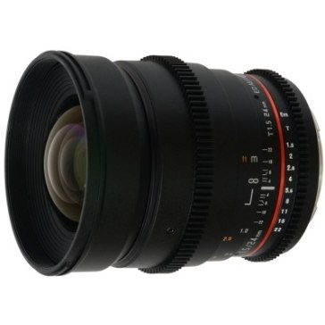 Objetivo Samyang 24mm T 1.5 V-DSLR ED AS IF UMC Sony E para Sony A6100
