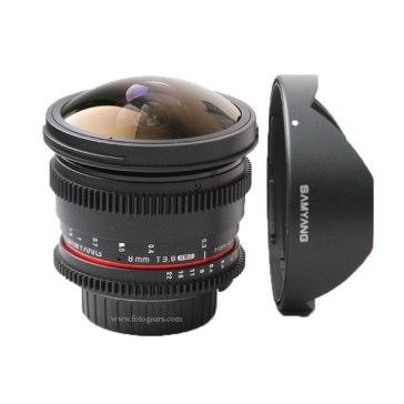 Samyang 8mm VDSLR T3.8 Lens for Canon EOS 750D
