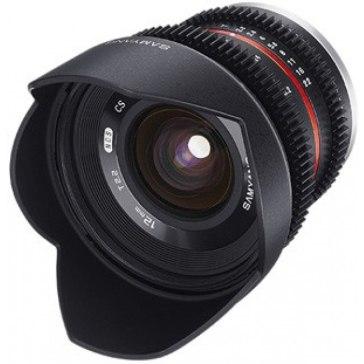 Objetivo Samyang VDSLR 12mm T2.2 para Samsung NX11