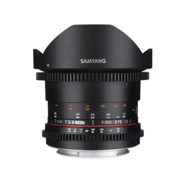 Samyang 8mm VDSLR T3.8 CSII MKII for Canon EOS 350D