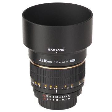Samyang 85mm f/1.4 para Kodak DCS Pro 14n