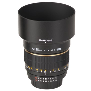 Samyang 85mm f/1.4 para Kodak DCS Pro SLR