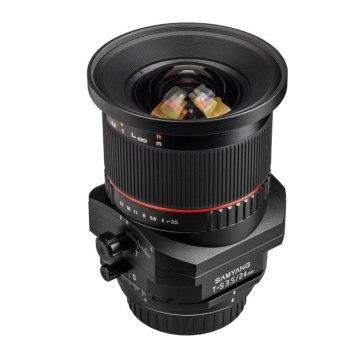 Samyang 24mm Tilt Shift f/3.5 para Kodak DCS Pro SLR