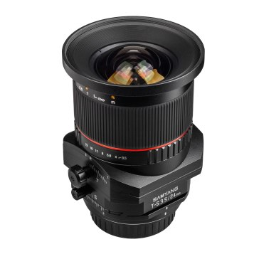 Samyang 24mm  f/3.5 Tilt Shift ED AS UMC Lens Canon for Canon EOS 1Ds Mark II