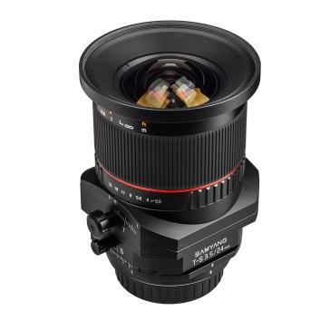 Samyang 24mm  f/3.5 Tilt Shift ED AS UMC Lens Canon for Canon EOS 5D Mark II