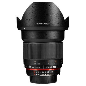 Samyang 16mm f/2.0 ED AS UMC CS Lens Sony E