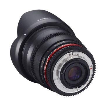 Samyang 16mm T2.2 VDSLR ED AS UMC CSII for Canon EOS 450D