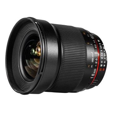 Samyang 16mm f/2.0 Gran Angular para Sony A6600