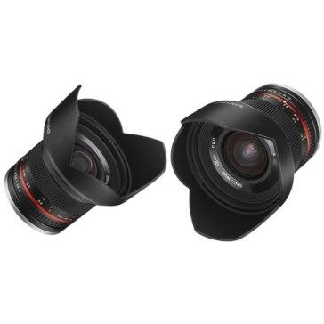 Objetivo Samyang 12mm f2.0 NCS CS Sony E Negro  para Sony A6600
