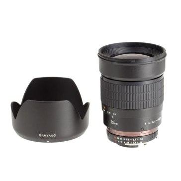 Samyang 35mm f/1.4 AE para Canon EOS 1300D