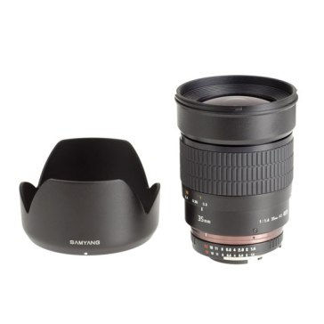 Samyang 35mm f/1.4 Lens for Canon EOS 1Ds Mark III