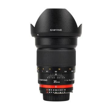 Samyang 35mm f/1.4 AS UMC Lens Canon AE