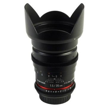 Samyang 35mm T1.5 V-DSLR AS IF UMC Lens Canon for Canon EOS 5D Mark II