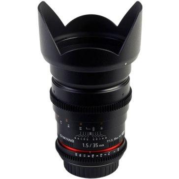 Samyang 35mm VDSLR T1.5 AS IF UMC MKII for Canon EOS 450D