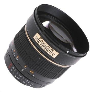 Samyang 85mm f/1.4 IF MC Aspherical Lens Canon for Canon EOS 5D Mark II