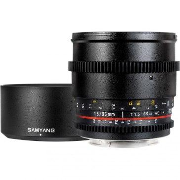 Samyang 85mm T1.5 VDSLR para Samsung NX11