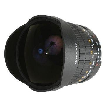 Samyang 8mm f/3.5 Ojo de Pez para Samsung NX2000