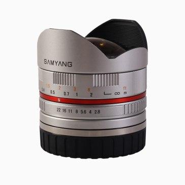 Samyang 8mm f/2.8 Fish Eye Lens Fuji X Silver