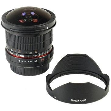 Samyang 8mm f/3.5 CSII para Nikon D7100