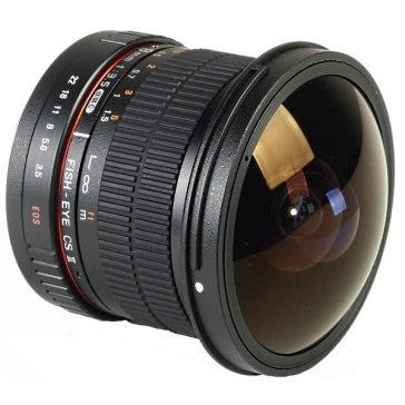 Samyang 8mm f/3.5 Fish-eye CS II Lens Canon