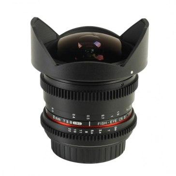 Samyang 8mm T3.8 V-DSLR UMC CSII Lens Canon