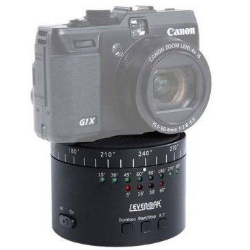 Cabezal panorámico Sevenoak SK-EBH01 para Kodak EasyShare Z8612 IS