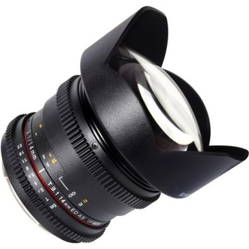 Samyang 14mm T3.1 VDSLR para Canon EOS 1300D
