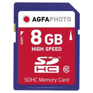 Memoria SDHC AgfaPhoto 8GB Clase 10 MLC