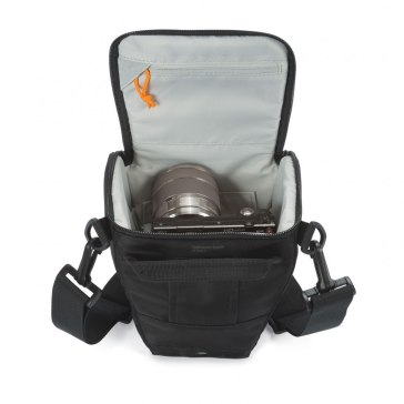 Lowepro Toploader Zoom 45 AW II Black Bag for Canon Powershot SX410 IS