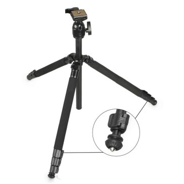 Trípode Profesional Gloxy GX-T6662A Plus para Kodak Pixpro FZ152