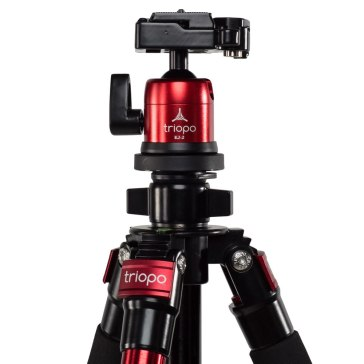 Trípode Triopo C-258 + Rótula KJ-2 para Kodak Pixpro FZ152