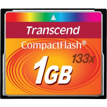 Memoria Compact Flash Transcend 1GB 133x