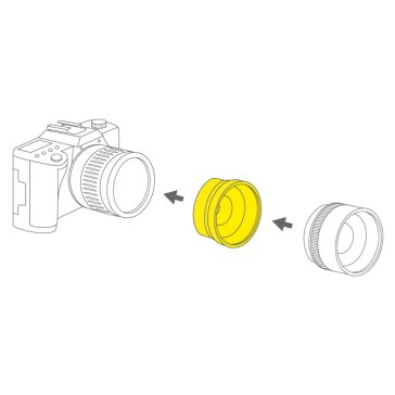 Lens adapter for Nikon Coolpix 5400