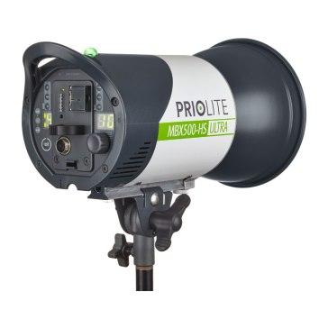 Kit de flash Priolite MBX 500 Hot Sync Ultra Móvil 1000J