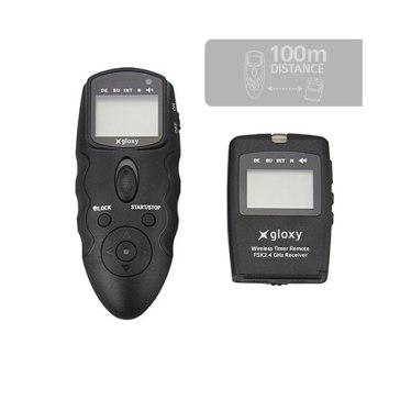 Mando intervalómetro inalámbrico Gloxy WTR-C para Canon, Pentax
