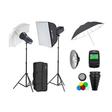 Kit de estudio profesional Visico 5 Inalámbrico TTL Plus