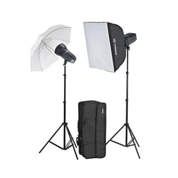 Kit de estudio Visico 5 Inalámbrico TTL Plus Softbox