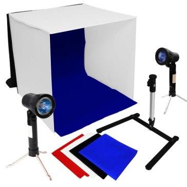 Estudio Fotográfico Portátil 40 x 40 x 40 cm para Kodak EasyShare P712