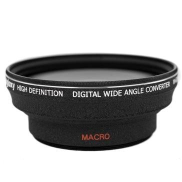 Lente gran angular y macro 0.5x para Kodak EasyShare Z1012 IS