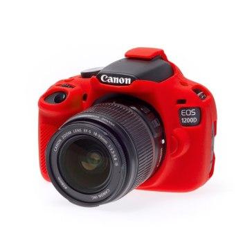 Funda easyCover Rojo para Canon EOS 1200D
