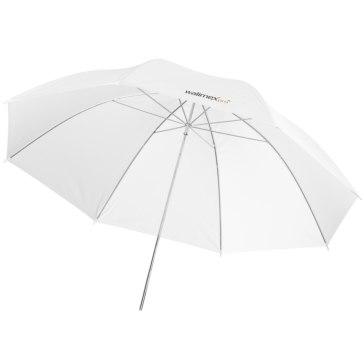 Walimex Pro Reflex paraguas blanco/plateado 109cm