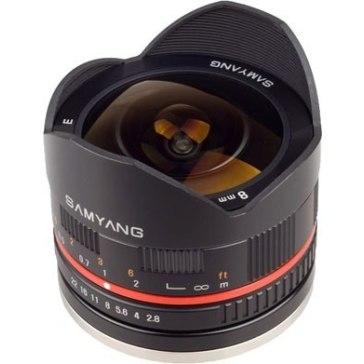 Samyang 8mm f/2.8 Ojo de Pez para Samsung NX2000