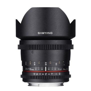Samyang V-DSLR 10mm T3.1 Lens Micro 4/3