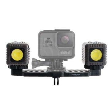 Antorchas LED Kit x2 Lume Cube + Adaptador Gopro