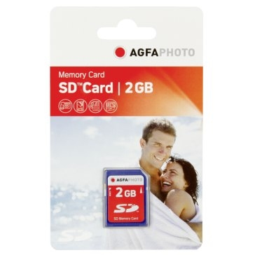 Memoria AgfaPhoto SD 2GB para Kodak EasyShare Z8612 IS