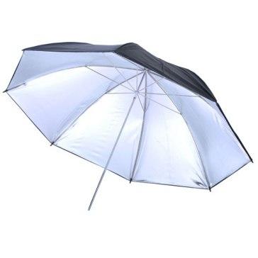 Paraguas Visico UB-003 Plateado/Negro