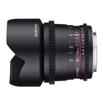 Samyang V-DSLR 10mm T3.1 for Canon EOS 450D