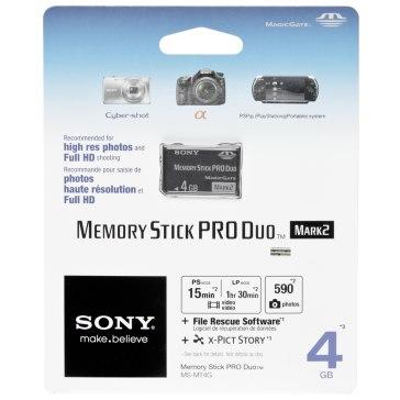 Memoria Sony Memory Stick 4GB para Sony A6100